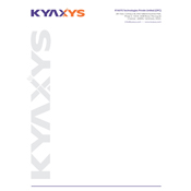 Letter Cover Designs - KYAXYS Technologies Private Limited, Perungudi, Chennai