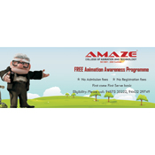 Brochure Designs - Amaze College of Animation & Technology, Chennai