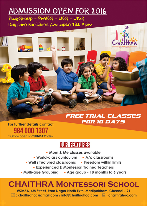 Color Wings Info Media: Pamphlet Design - Chaithra Montessori ...