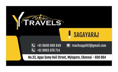 Branding - Y Travels, Mylapore, Chennai