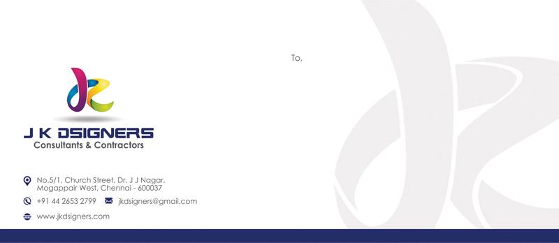 Branding Letter Cover - J K D'signers, Chennai