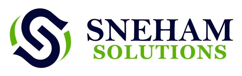 Branding - Logo Designs. Sneham Solutions, Madipakkam, Chennai.