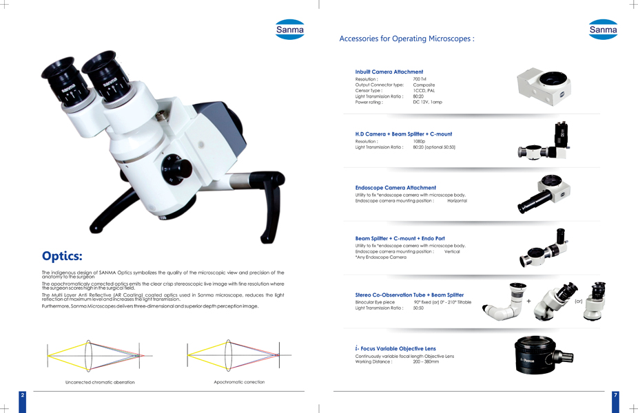 Bi Folder, Brochure Designs - Sanma Medineers Vision Pvt Ltd, Korattur, Chennai