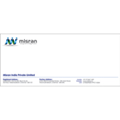 Letter Cover Designs - Misran India Private Limited, Anna Nagar East, Chennai