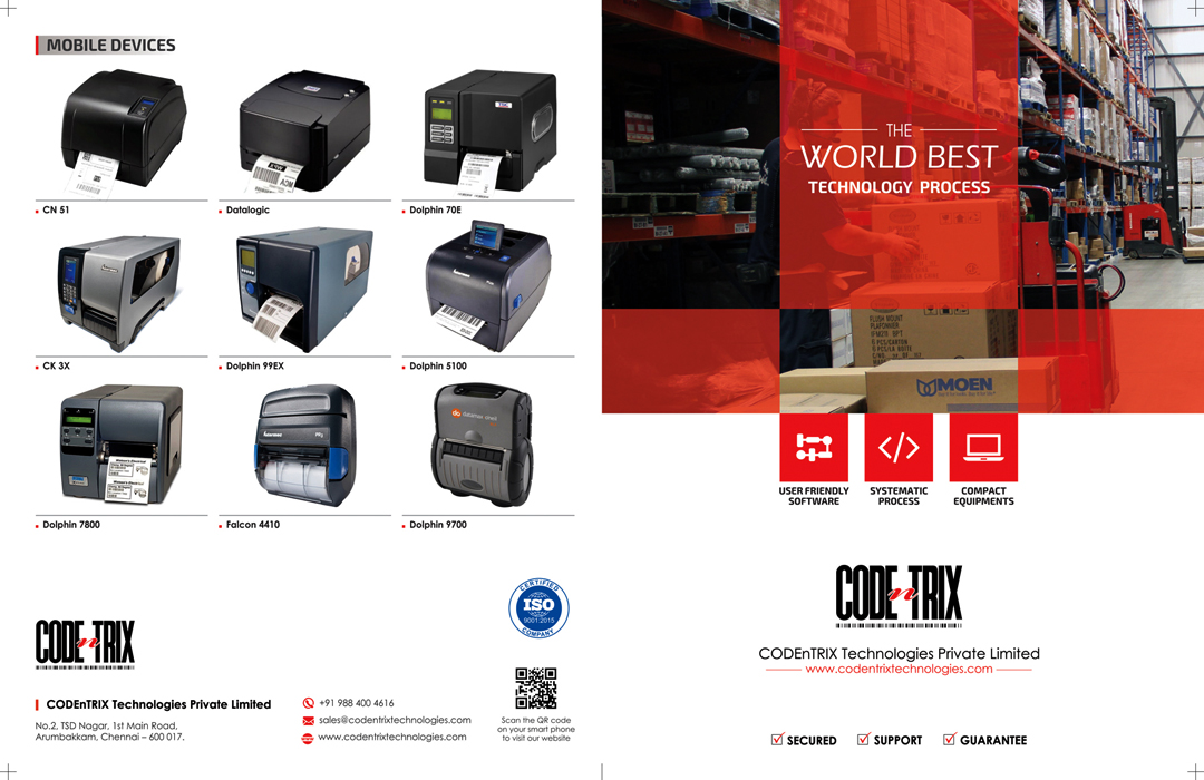 Brochure Designing Service - CODEnTRIX Technologies Private Limited, Arumbakkam, Chennai