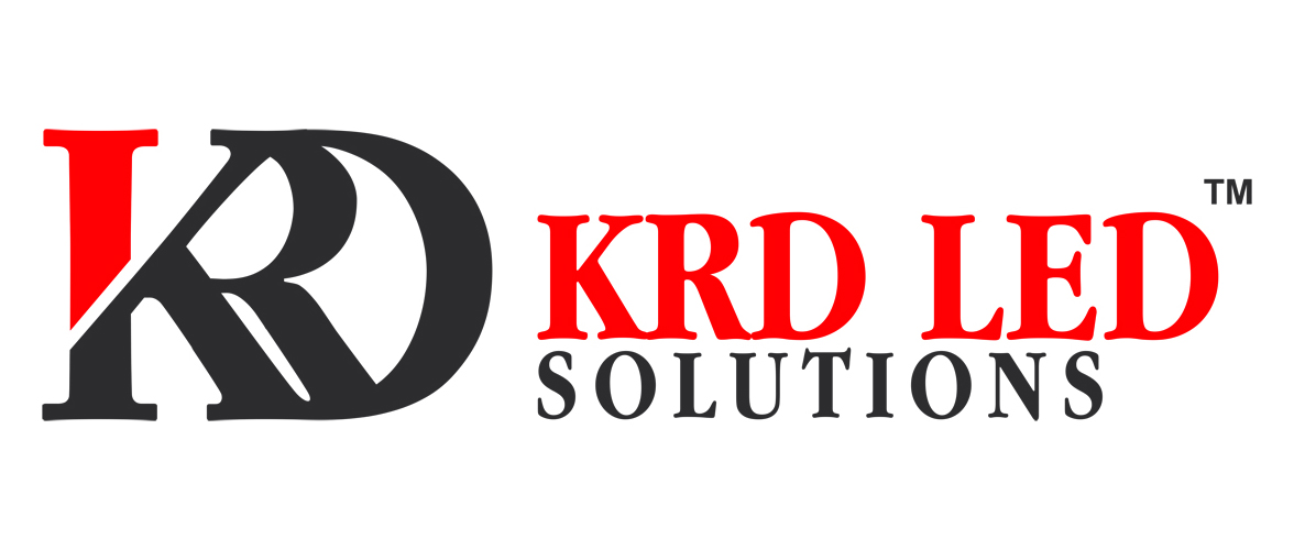 Logo Designing Services - KRD LED Solutions, Broadway Parrys, Chennai