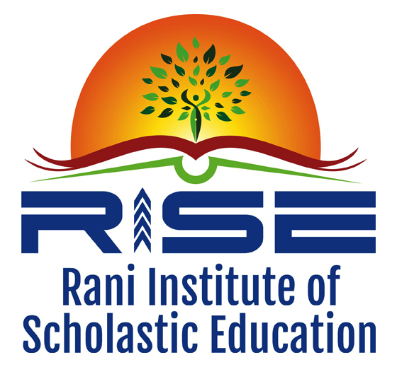 Logo Designing - Rani Institute of Scholastic Education, Virugambakkam, Chennai