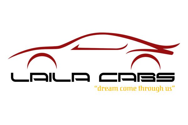 Company Logo Designing Services - Laila Cabs & Cars, Palayamkottai, Tirunelveli.