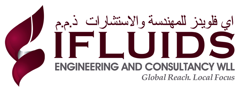 Brand logo designing services, Logo Icon -  Ifluids Engineering and Consultancy WLL, Doha, Qatar.