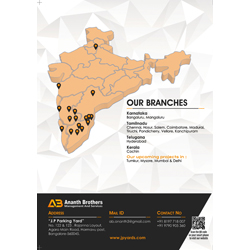 Brochure Designs - Ananth Brothers Management and Services, Harmavu Post, Bangalore