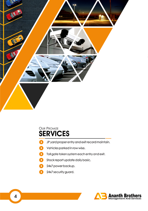 Brochure Designing Services - Ananth Brothers Management and Services, Harmavu Post, Bangalore