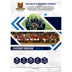 Brochure Designs - Placements 2019 - R.G.M College of Engineering & Technology, Kurnool, Andhra Pradesh