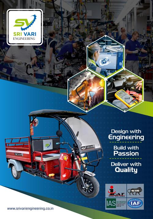 Brochure Designing Services - Sri Vari Engineering, Kolathur, Chennai.
