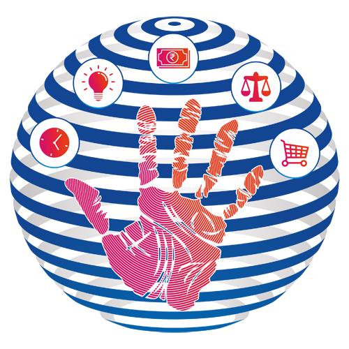 Logo Designing Services. Technology - Social Network Icon, Anna Nagar, Chennai.