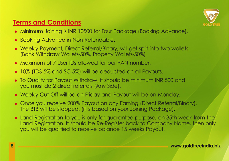 Brochure Designing Services In Chennai - Gold Tree Eco Wealth India Private Limited, Vadapalani, Chennai