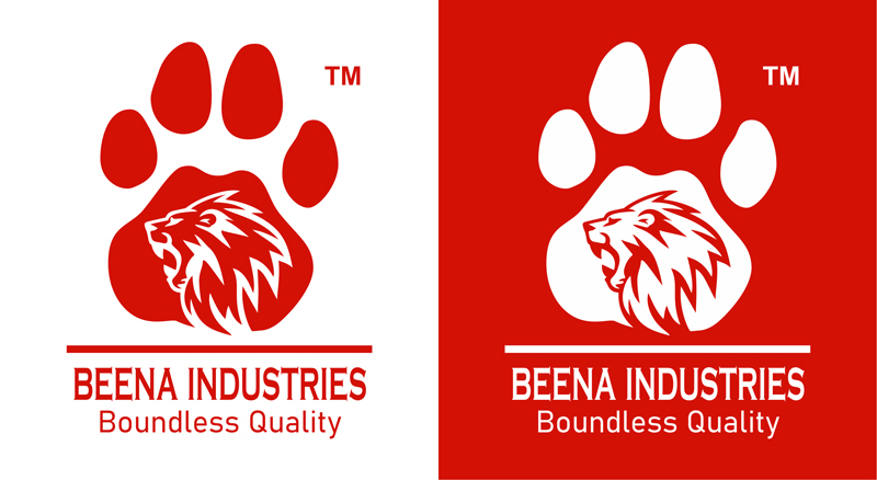 Brand Logo Designer services for Beena Exports And Imports, Kollam, Kerala.