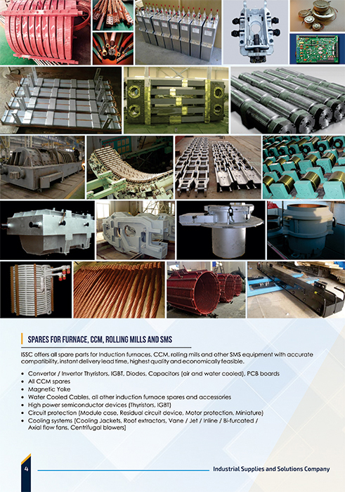Brochure Designing Services - Industrial Supplies and Solutions Company, T.Nagar, Chennai.