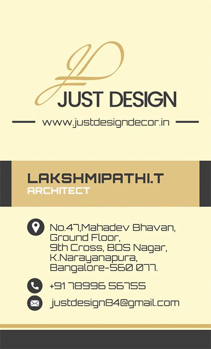 Branding Logo Designing Services, Business Card - Just Design, Bangalore, India.